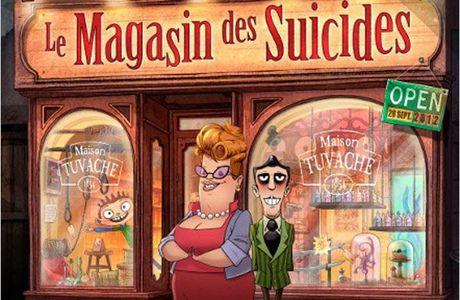 Avis livre : Le magasin des suicides