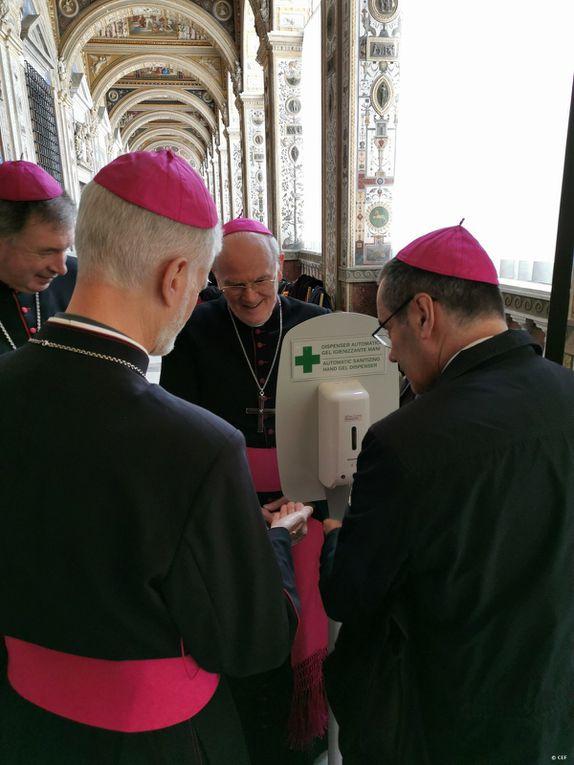 Crédit photos  : diocèses de Luçon , saint Dié, Nantes et  Vatican média