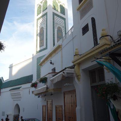 La grande mosquée de la Médina de Tanger