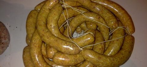 Saucisses style Merguez - chipo home made by Guidmann