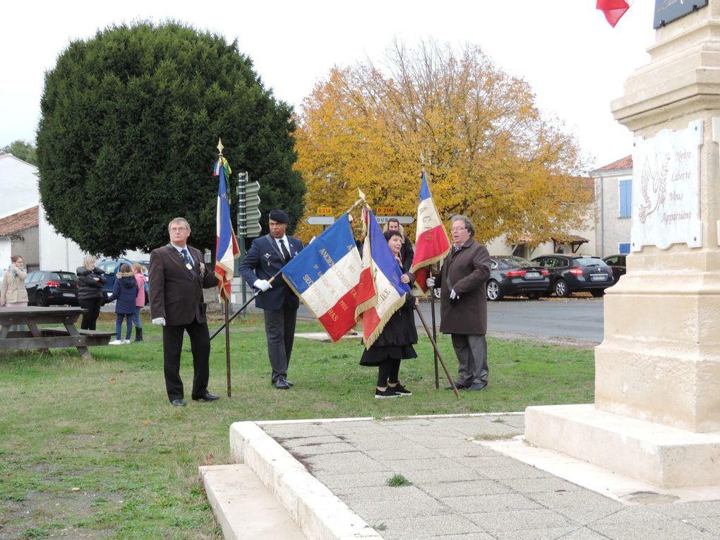 Cérémonie commémorative de l'Armistice du 11 novembre 1918