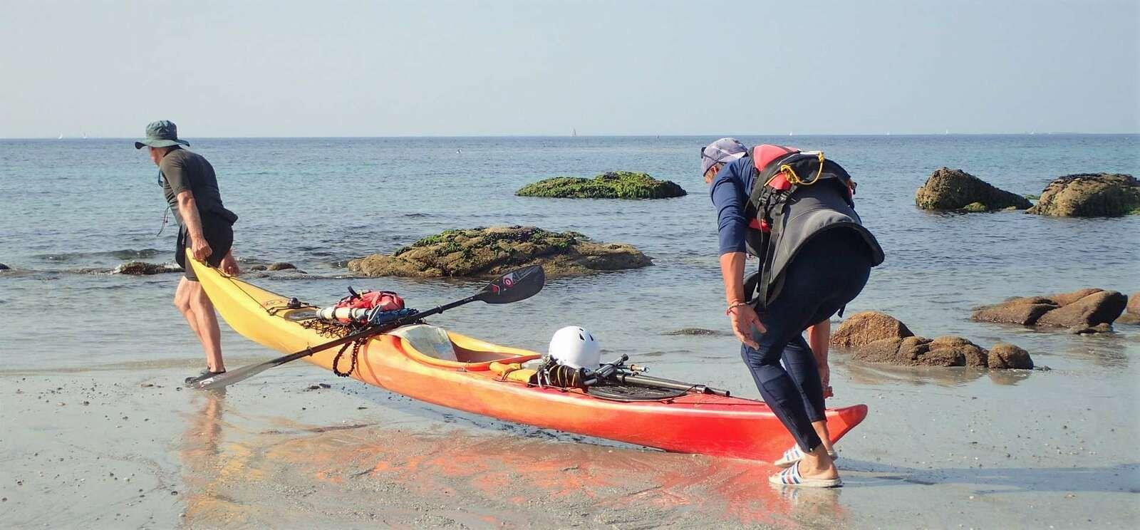Le tour de France en kayak et VTT : le défi d'Erik