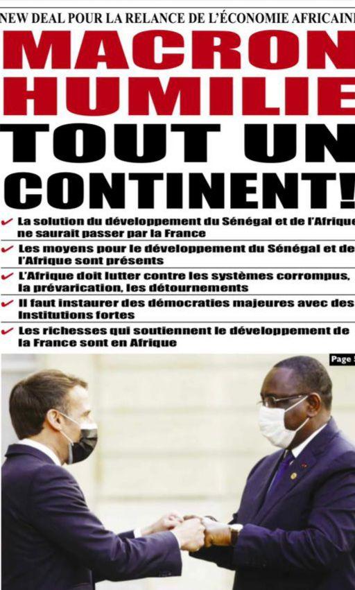 «Le président Macky SALL, avocat de l'Afrique au G20 G7, à Paris, pour une vaccination massive, un Plan Marshall et l'annulation de la dette commerciale» par Amadou Bal BA - http://baamadou.over-blog.fr/