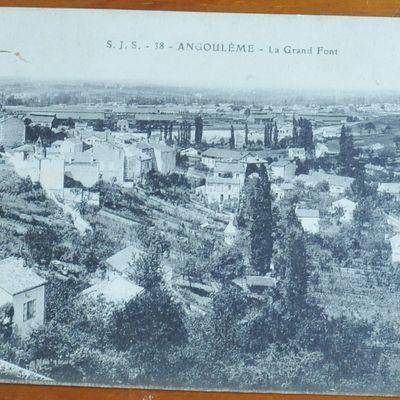 Angoulême : la Grand-Font d'hier, et d'aujourd'hui