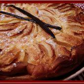 Flamusse aux pommes - Oh, la gourmande..