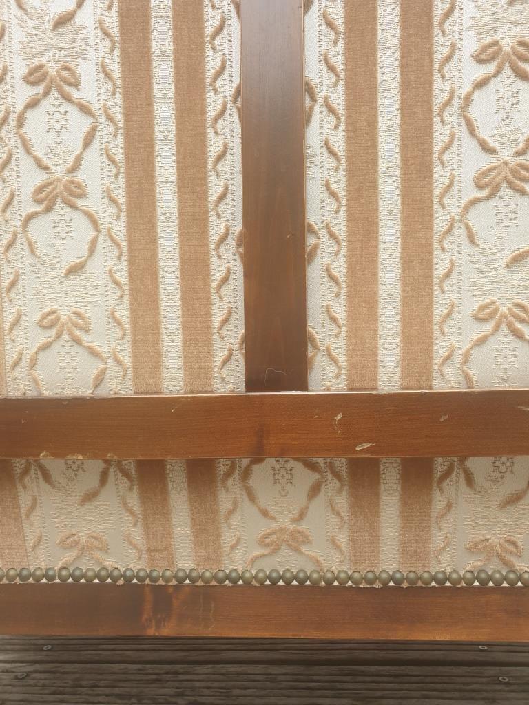Banquette 2 places vintage style Restauration - vendu