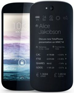 Yotaphone au Mobile World Congress 2014