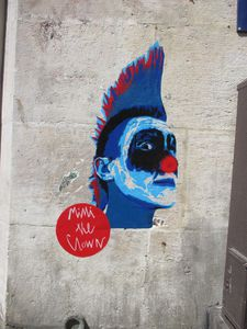 Mimi The Clown - Paris 20e