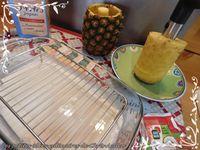 Perles du Japon au lait de coco et dés d'ananas
