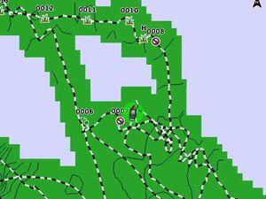 Quickdraw Contours et la Starter Map : la bathymétrie selon Garmin