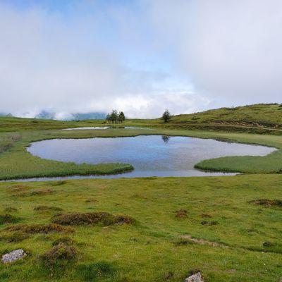 Randonnée facile: le lac de Soum- col du Soulor