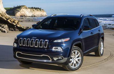 Le nouveau Jeep Cherokee en fuite