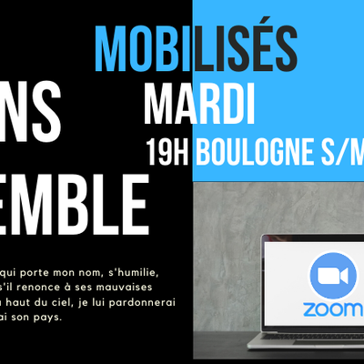 MARDI 19h: Prions ensemble via Zoom
