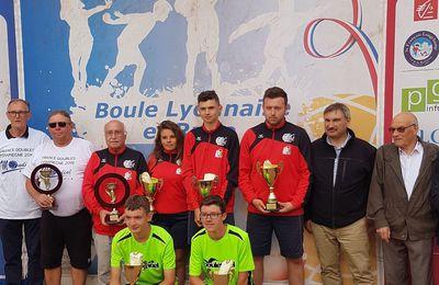 Vidéo de la boule victorieuse en Coupe de France  U18 à Compiègne 007.07.2019
