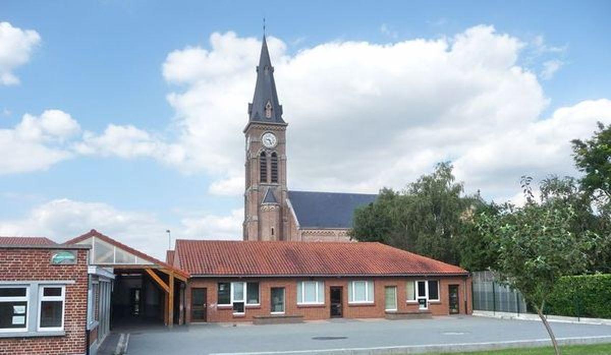 Ecole Saint Alphonse Halluin Mont - Août 2012.