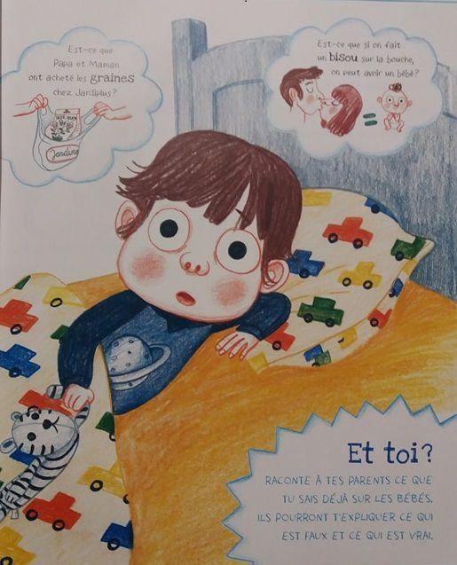 Comment on fait les bébés ? Le livre de ma naissance avec les Editions Gründ