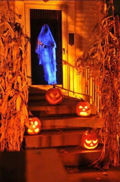 scénariser son entrée pour halloween