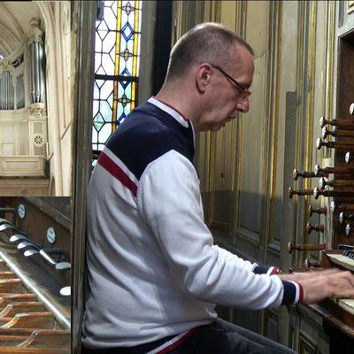 Michael matthes, un organiste français concertiste international titulaire à l'église st-germain l'auxerrois à paris