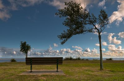 S'asseoir sur un banc