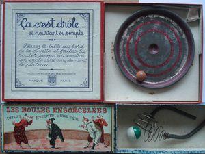 le bilboquet de Triboulet, la boucle drôlatique, ça c'est drôle et boules ensorcelées...