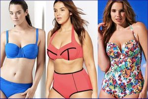 Costumi over size per le curvy