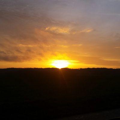 Comme un coucher de soleil.
