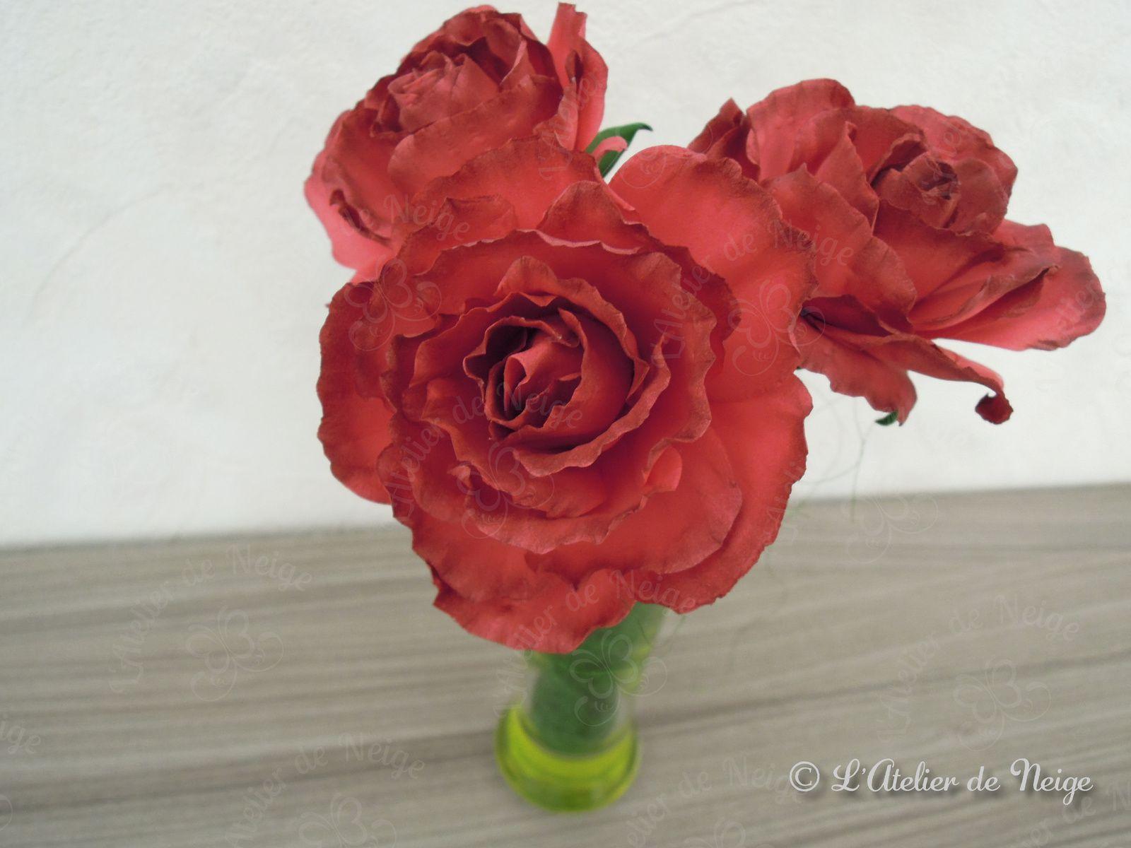 048 - Bouquet de Roses Rouges Anniversaire Patrick décembre 2020