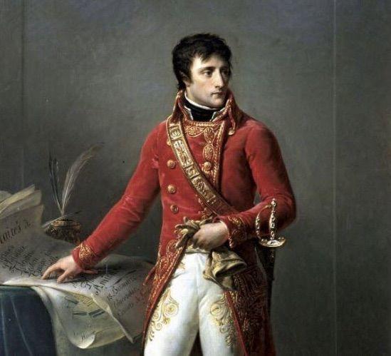 Napoléon Bonaparte en 1802, peint par Antoine-Jean Gros. Photo domaine public