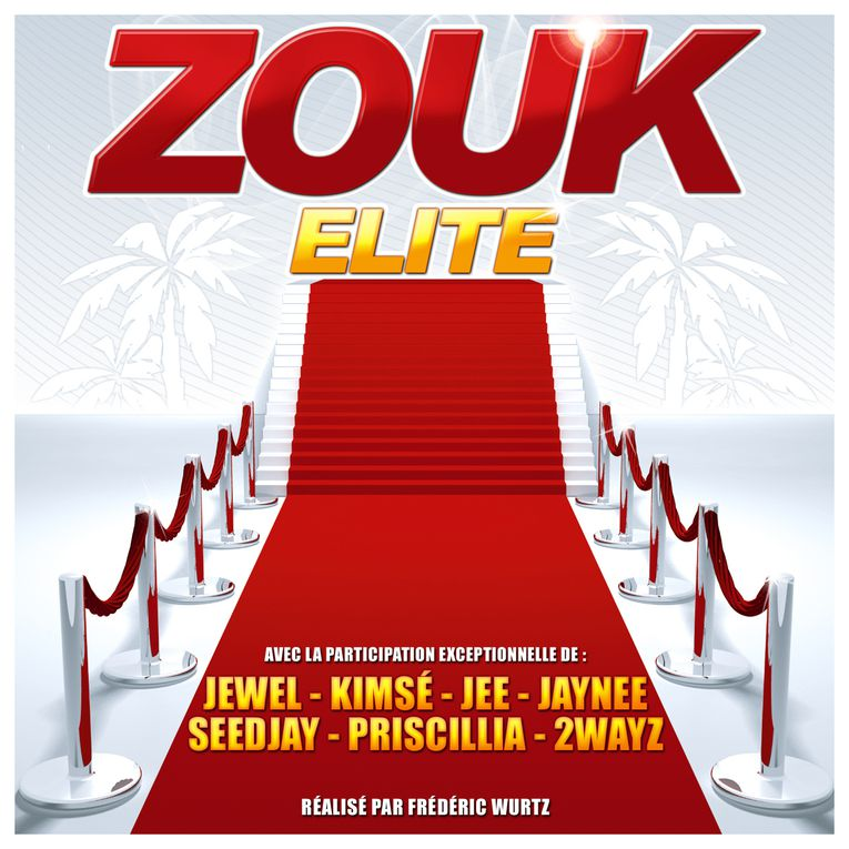 Pochettes albums zouk 2011