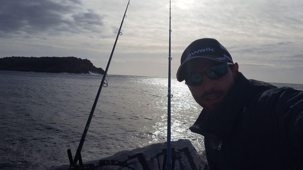 De bonnes sensations, le poisson est en activité, cette session de pesca s'annonce brutale!!!!