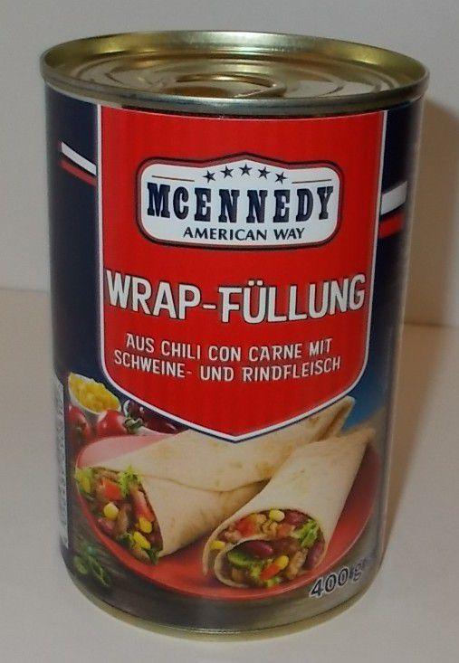 [Lidl] McEnnedy Wrap-Füllung aus Chili con Carne