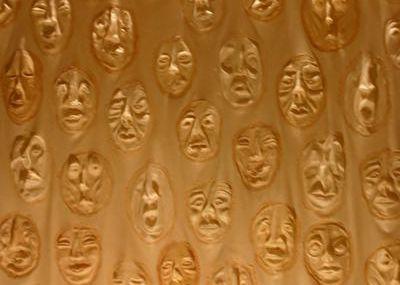 Masques en latex de la survie ( Claudia camposs )