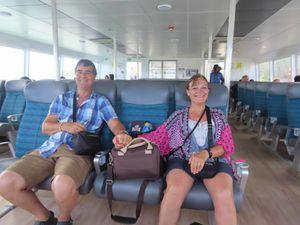 Retour à Mahé (Seychelles)