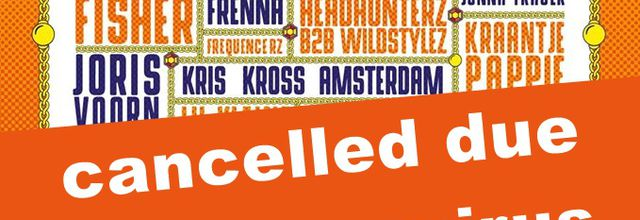 ⚠ Kingsland Festival in Netherlands, cancelled due to coronavirus ⚠