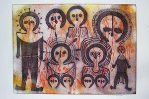 Wandjinas et Gyorn-gyorns, esprits du Kimberley