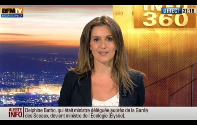 [2012 06 21] FANNY AGOSTINI - BFM TV - LA METEO @21H15