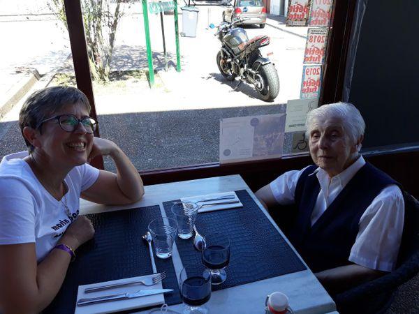 Guy Auburtin et Sœur Lucie