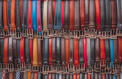 Purchasing Men's Embroidered Belts