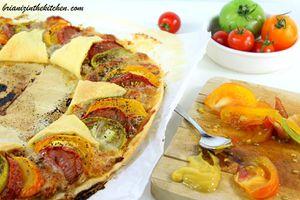 Tarte Couronne Tomates, Thon & Mozzarella