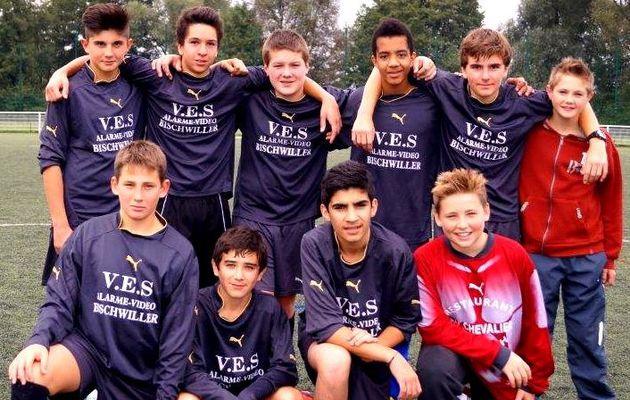 Les cadets UNSS football du Séminaire