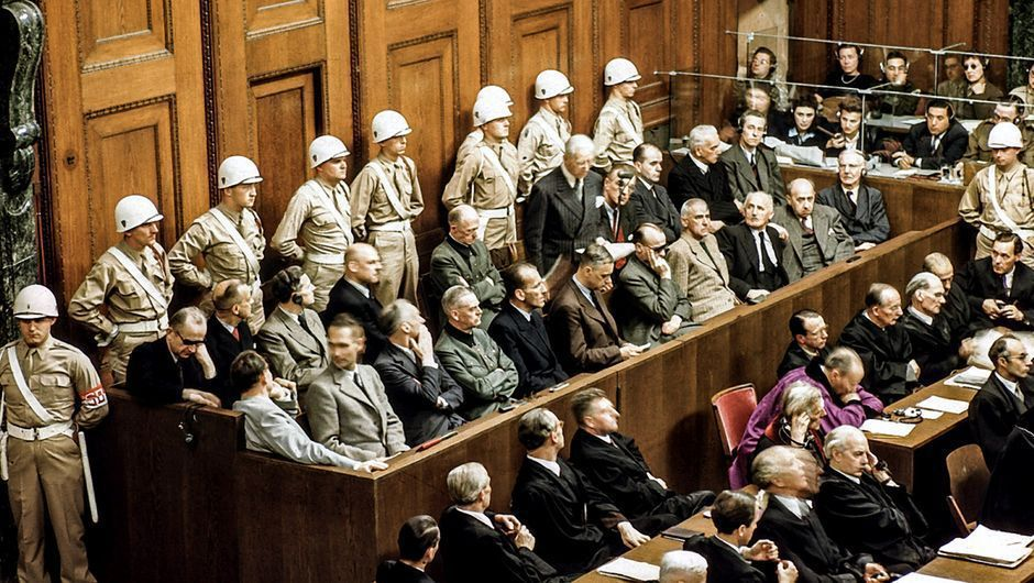 Nuremberg - Day 218 Judgments