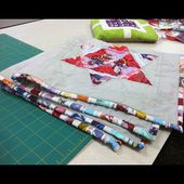Bryan House Quilts: Tutorial: Making binding from selvedge
