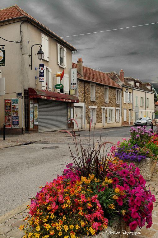 La vallée de l'Yerres entre Courbon et Villeneuve-Saint-Georges