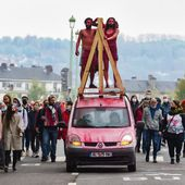 Rouen. Quelque 1 500 personnes défilent dans le centre-ville pour le 1er-Mai