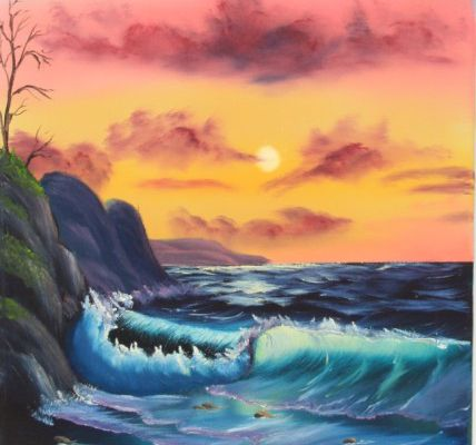 Bob Ross - The Joy of Painting - By The Sea - Video.