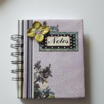 """Notes """"mauve"""""""
