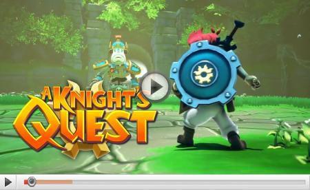 [ACTUALITE] A Knight's Quest - l'aventure c'est l'aventure sur PC et consoles cet automne