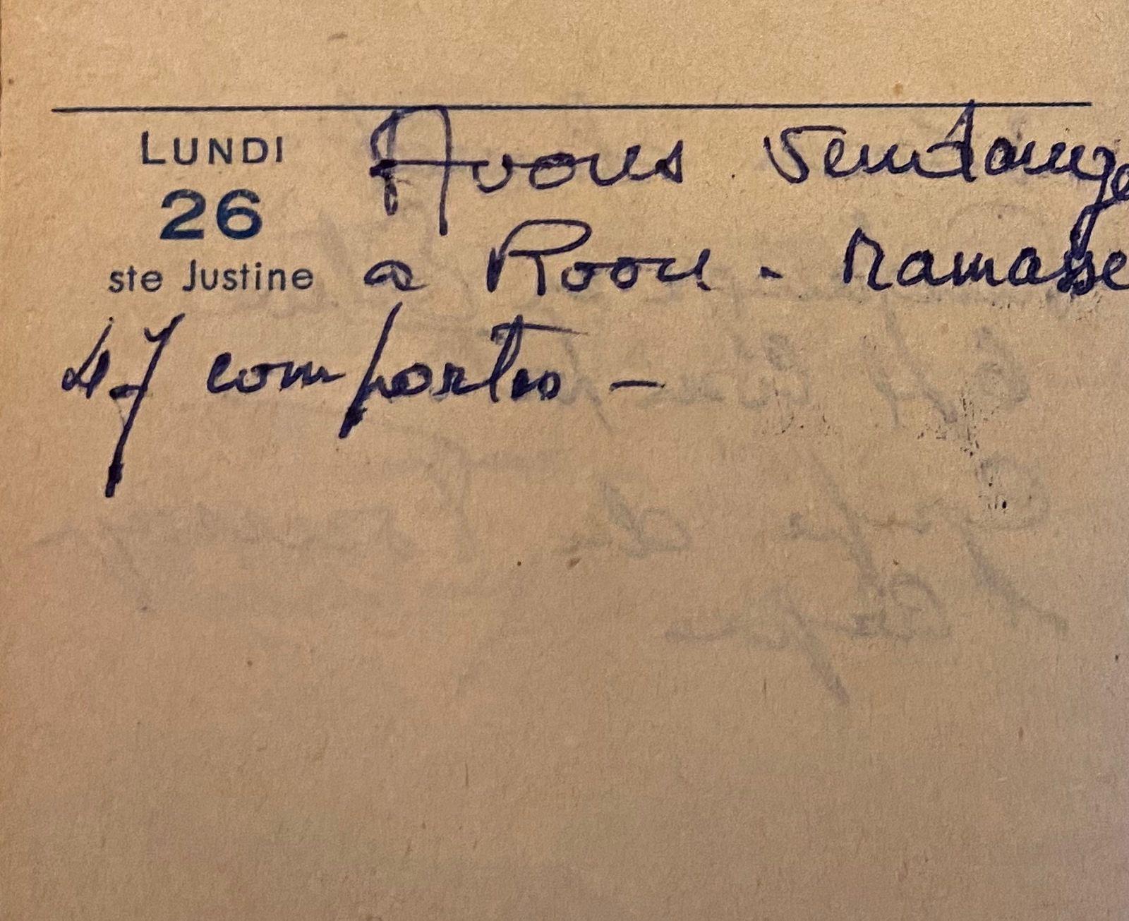 Lundi 26 septembre 1960 - vendanges dans la belle-famille
