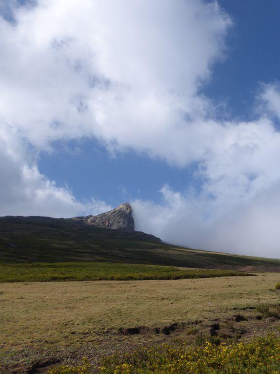 Photos prises durant le trek du mont Abouna Yosef (dans l'ordre du circuit)