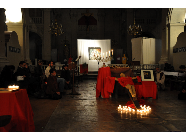 Liturgie du vendredi saint à Saint-Polycarpe, Lyon, 2011- 2014